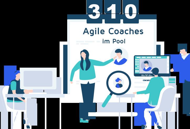 agile coaching freelancer graphic
