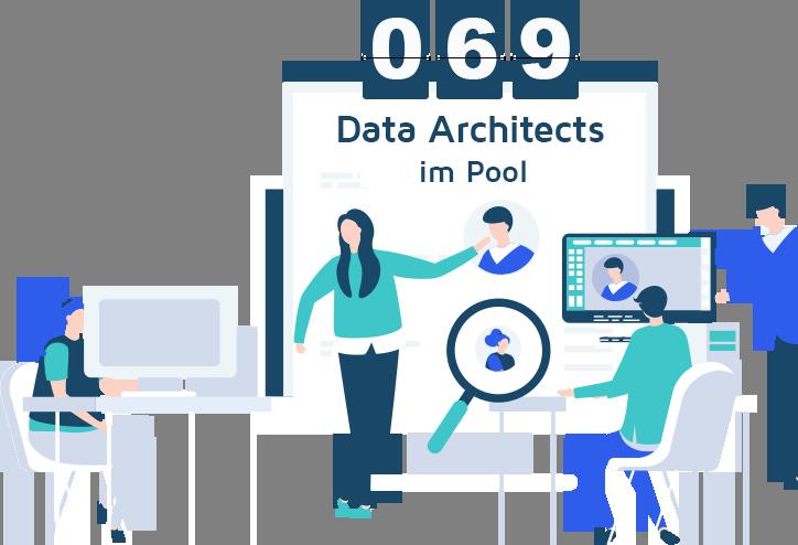 data architecture freelancer graphic