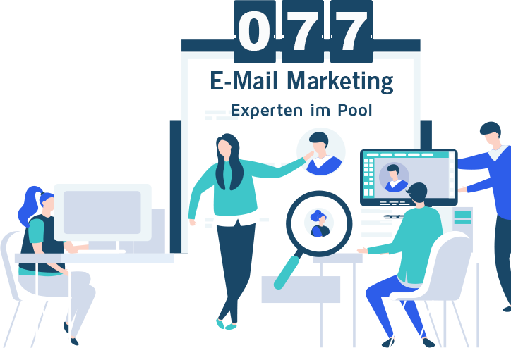 email marketing freelancer graphic