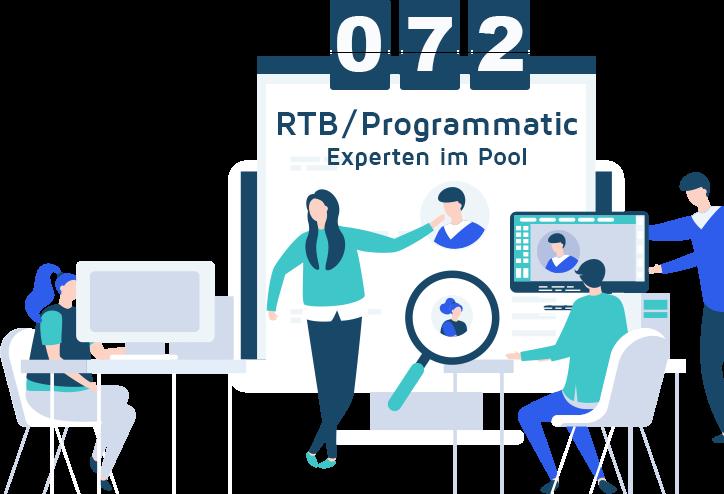rtb programmatic freelancer graphic